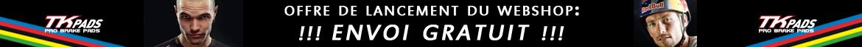 offre de lancement du webshop : ENVOI GRATUIT  /  FREE SHIPPING